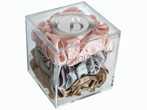 Mulberry Silk Scrunchies Large