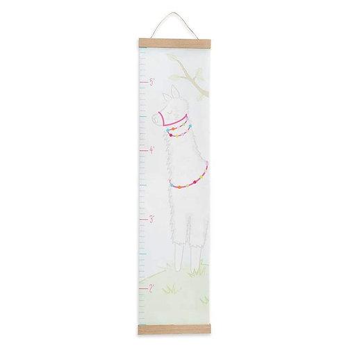 Llama Hanging Growth Chart