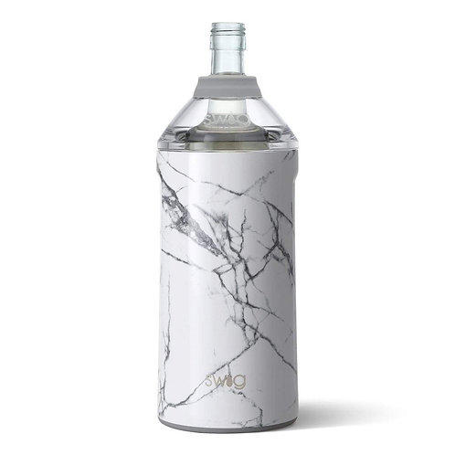 White Marble Wine Bottle Insulator