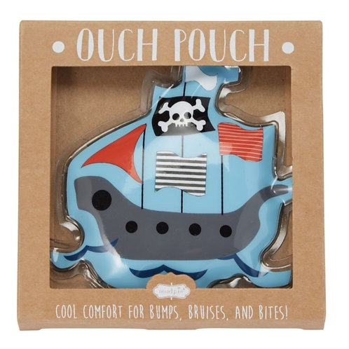 Pirate Ship Ouch Pouch! Gel Ice Pack