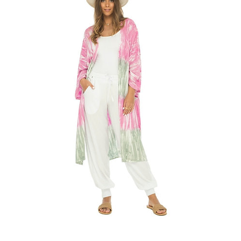 Pink Wynwood Walls Kimono