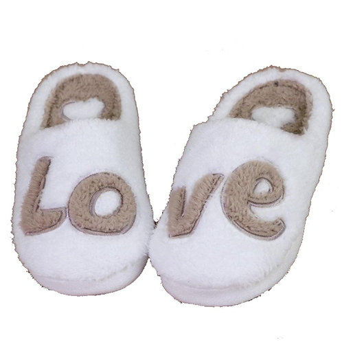 Lots of 'Love' Slippers