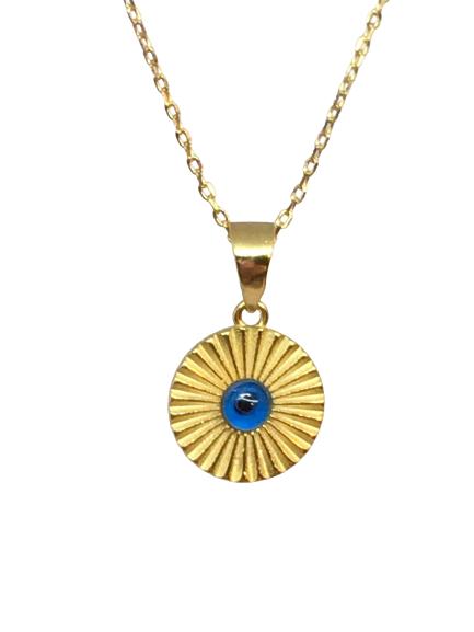 'AIRA' Evil Eye Necklace