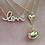Thumbnail: 'MAIRA' Puffy Heart Necklace