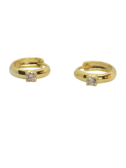 'CHARLENE' Gold Mini Hoops