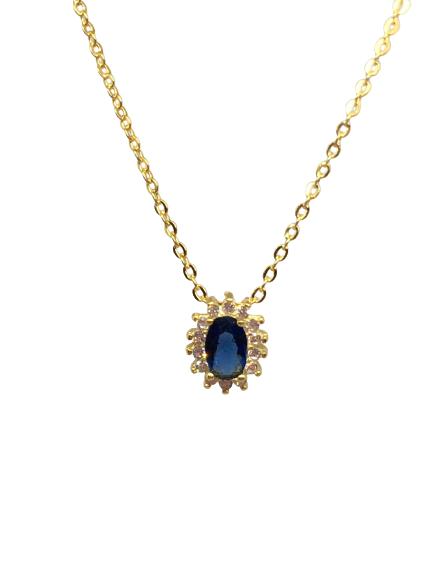 'SAPHIRRIA' Gold  Necklace