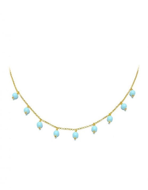 'LAURA' Turquoise Necklace
