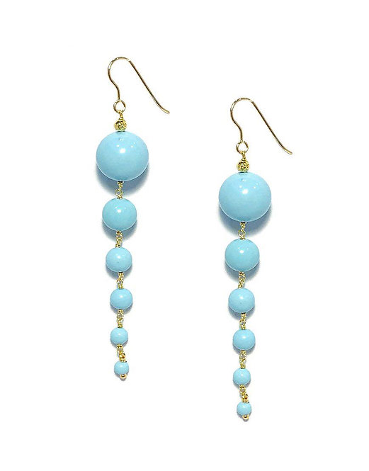 'AMELIE' Turquoise Earrings