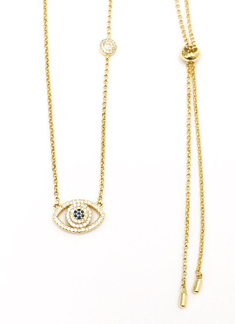 'SIENNA'  Pavé Necklace
