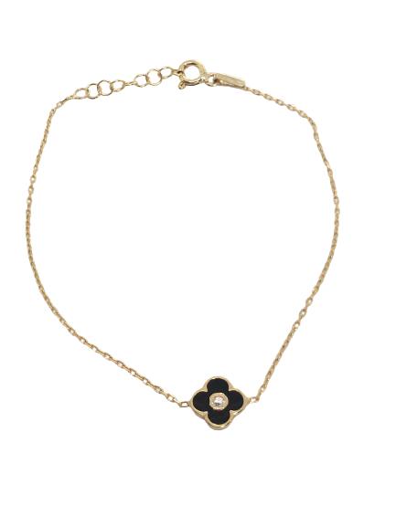 'ANABELLE' Gold Mini Clove Bracelet