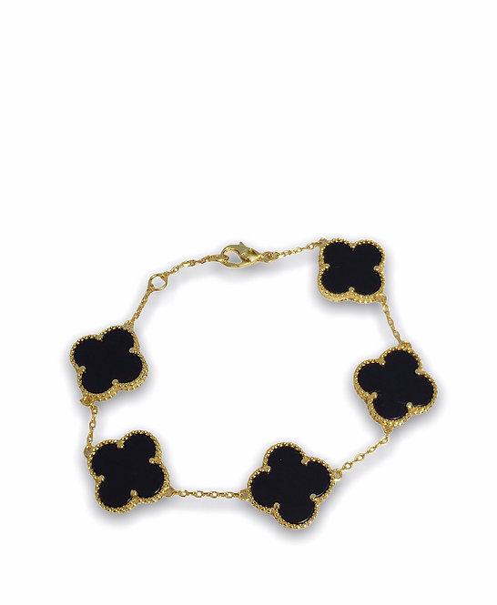 'ROMA' Black Bracelet