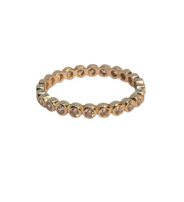 'BUBBLES' Gold Ring