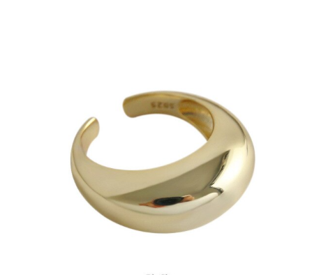 'YNES' Puffy Ring Big