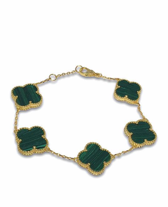 'ROMA' Malachite Bracelet