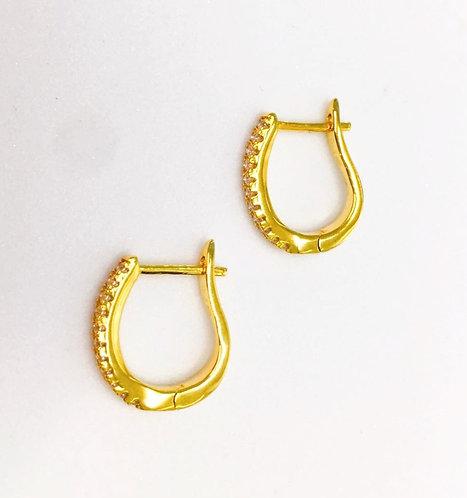 'LITO' Pavé Earrings