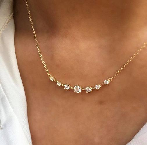 'JAQUELINE' Gold Necklace