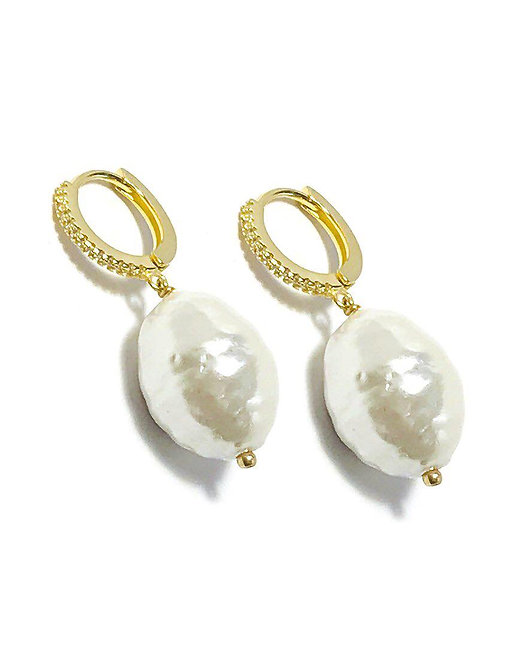 'CHIARA' Pearl Earrings