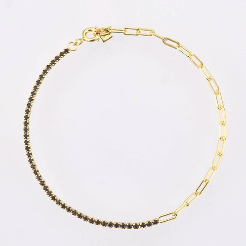 'JUANETTA' Necklace Black