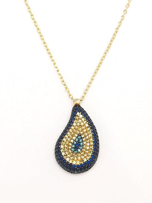 'SABRINA' Pavé Necklace