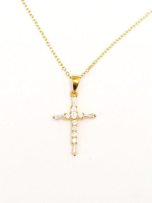 'GIGI' Cross Necklace