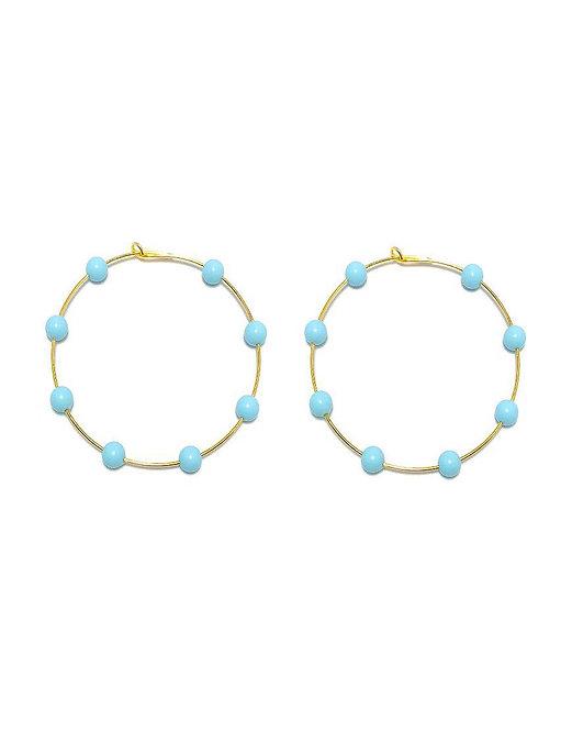 'ZOE' Turquoise Earrings