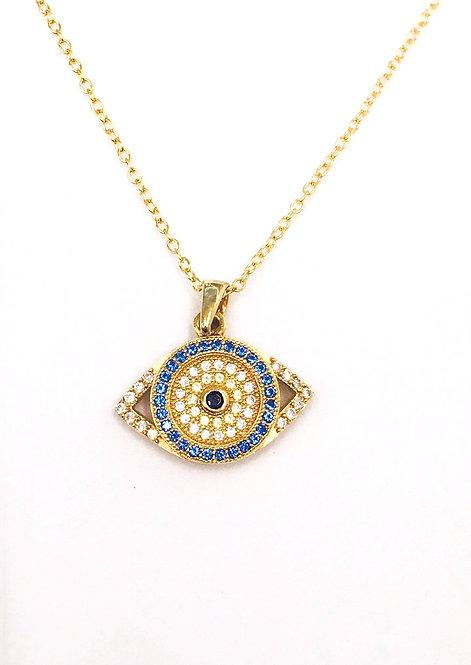 'DOLORES' Evil Eye Necklace