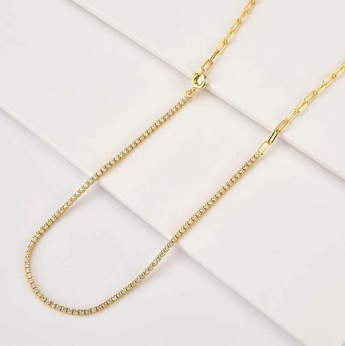 'JUANETTA' Necklace Clear