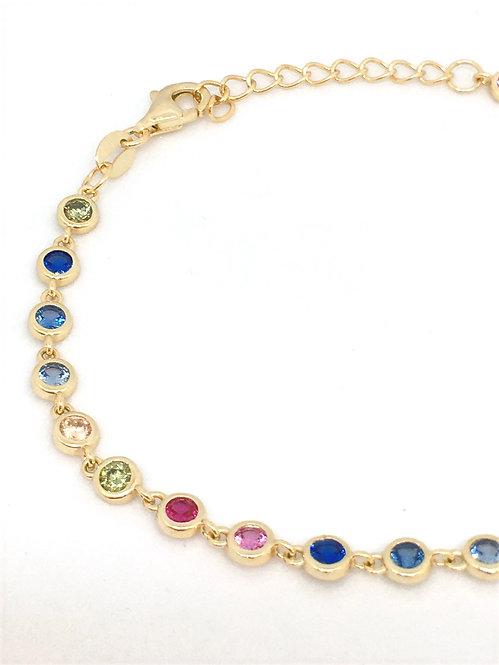 'MARIELLA' Multicolored Necklace