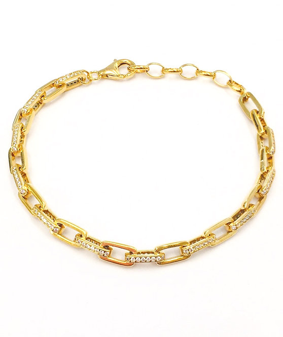 'ALESSA' Linked Bracelet