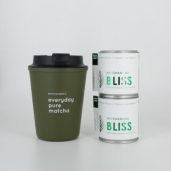 BLISS MATCHA WALLMUG SET