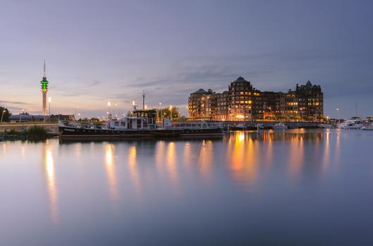 Lelystad Batavia harbor