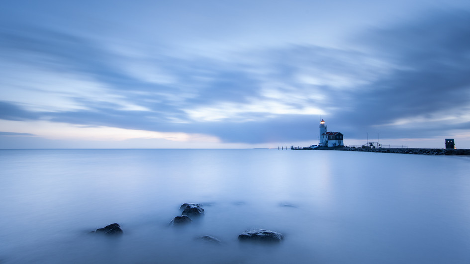 the lighthouse..