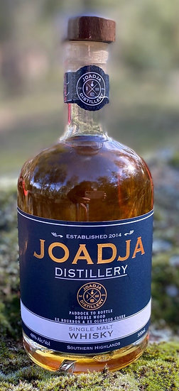 Joadja Single Malt Whisky -  Double Wood Release 12 - Paddock to Bottle