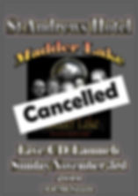 St Andrews Cd Launch poster cancelled.jp