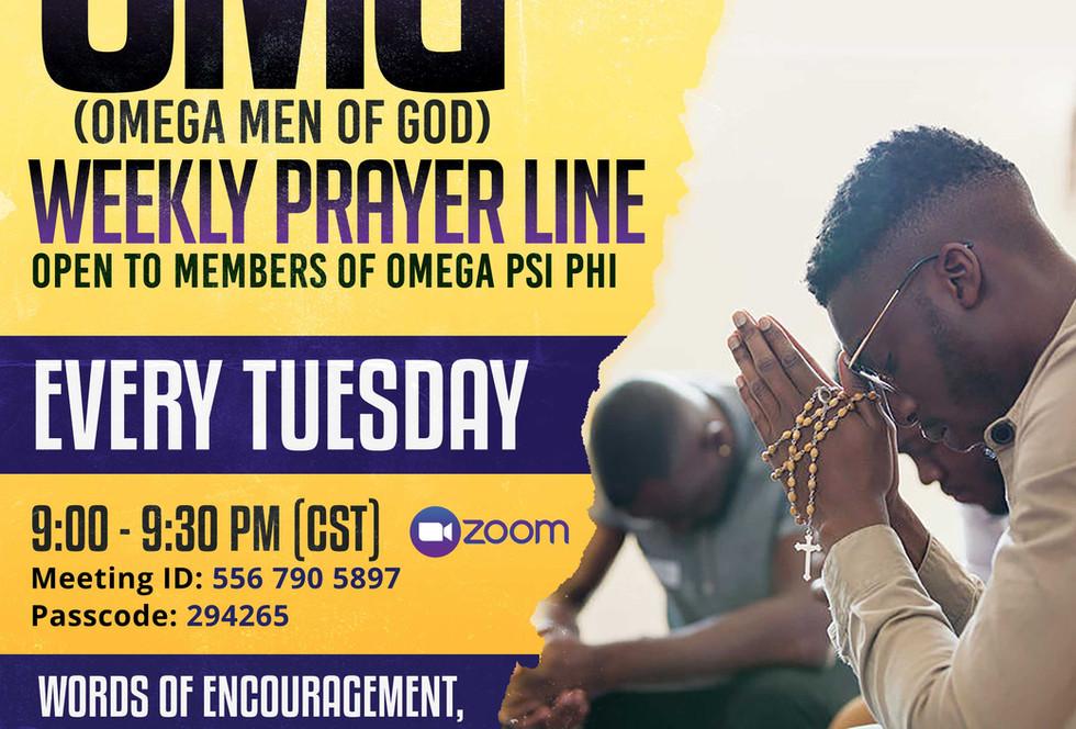 Omega Prayer Line(OMG)
