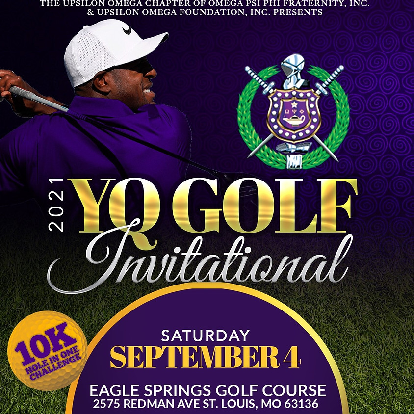 2021 YQ Golf Invitational Sponsorship