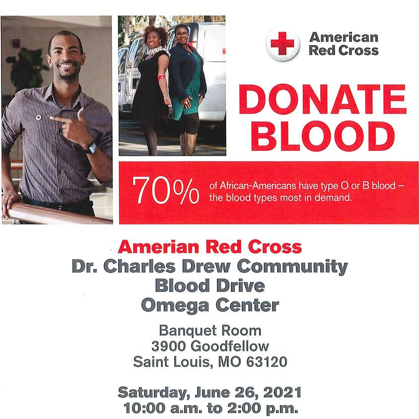 Dr. Charles Drew Community Blood Drive