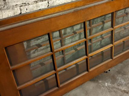 Quarter Sawn Oak French Doors from Demolished Craftsman