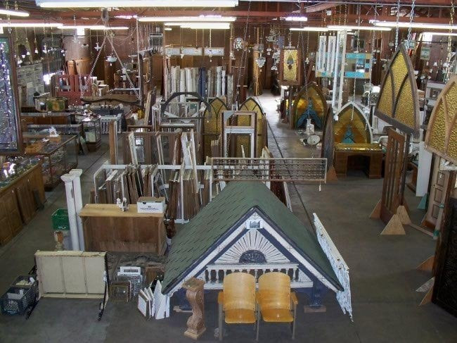 Architectural Salvage Inc Warehouse Inventory