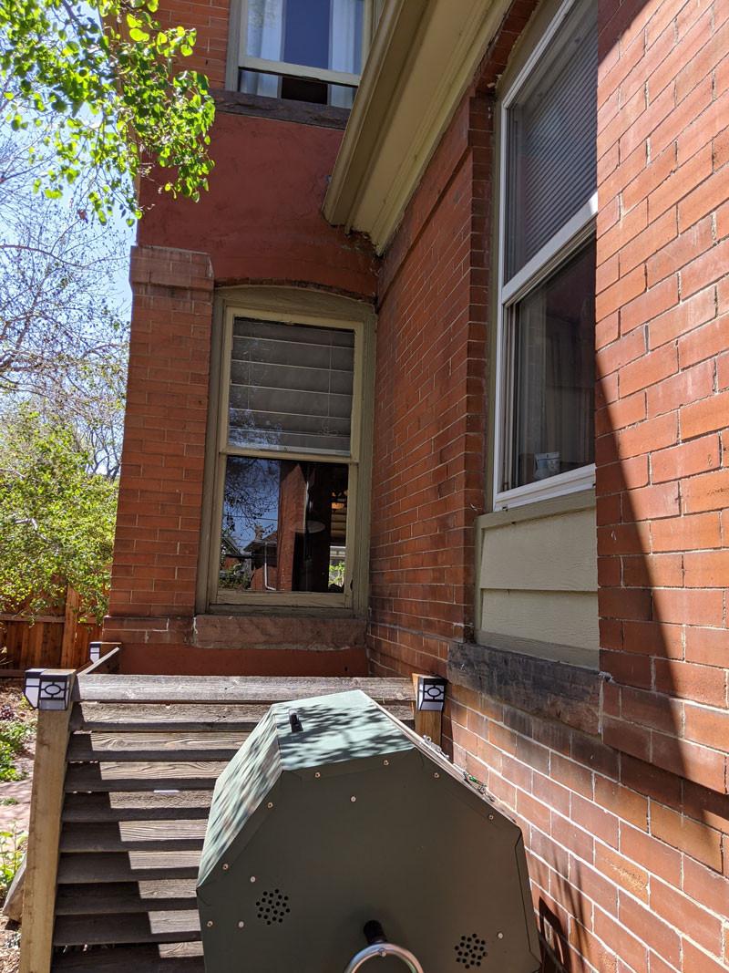 Comparison Between Original Wooden Window and Vinyl Inset Replacement Window