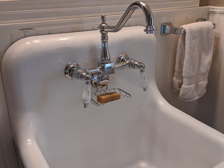 Installing a Wall-Mount Sink: The Reveal