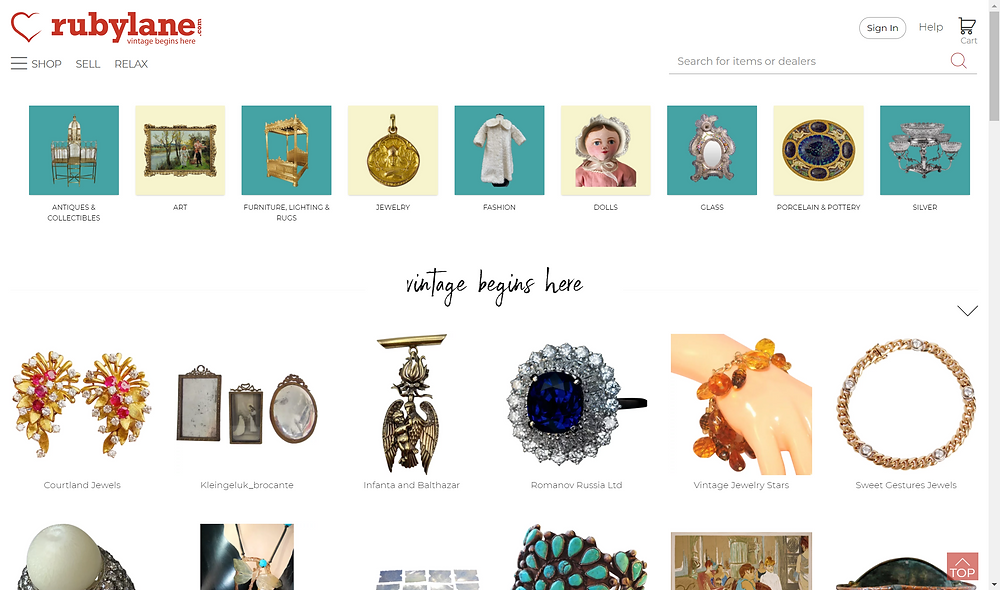 Source Antiques Online Using Marketplaces Like Ruby Lane