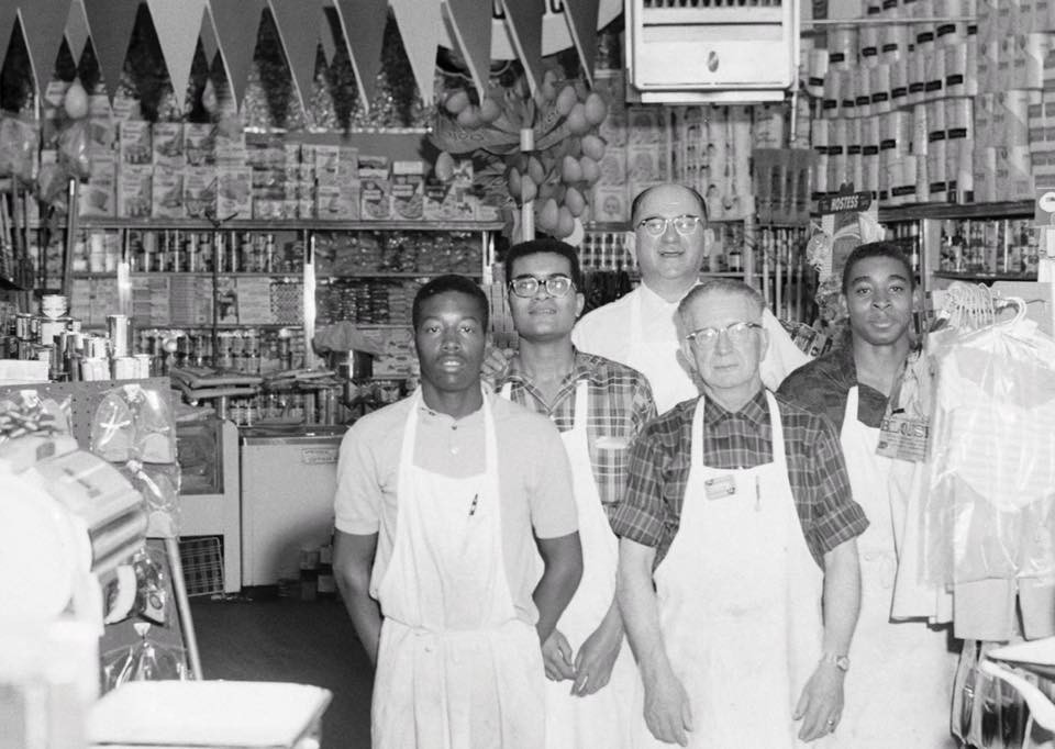 Lincoln Market in 1940s from Blair-Caldwell African-American Research Library via Calvin Williamson and Northeast Denver Love & History