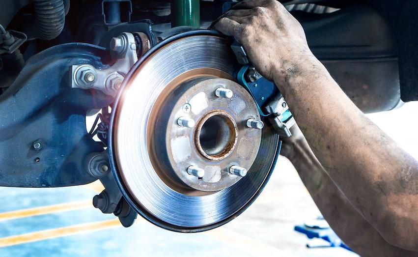 Disk brake and car disk brake system ser