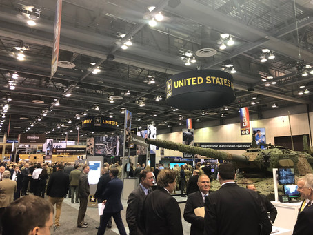 Blue Skies Attending AUSA Global Force