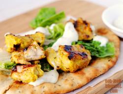 Chicken Tikka Shawarma Wrap