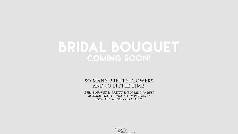 Color Bridal Bouquet