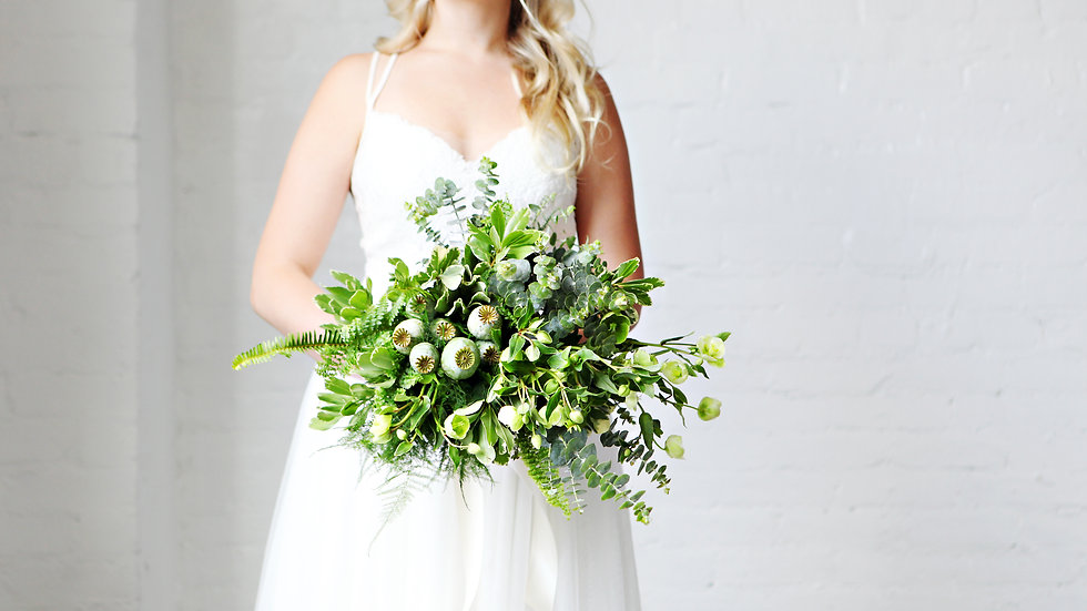 Foliage Bridal Bouquet