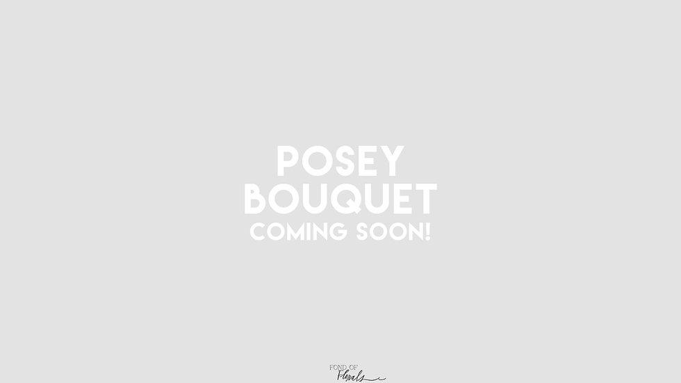 Color Posey Bouquet