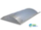 Eloxovaný hliník – stříbrnošedá (standardní barva)